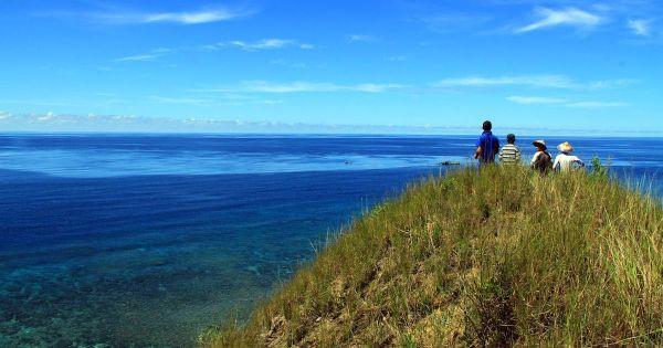 Tumbak Permata Wisata Minahasa Tenggara Taman Laut Kab