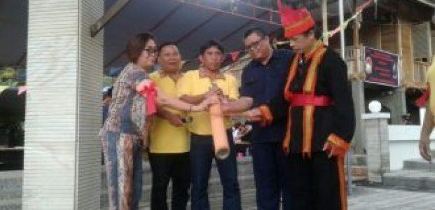 Dinas Pariwisata Minut Gelar Pagelaran Seni Budaya Desa Sawangan Situs