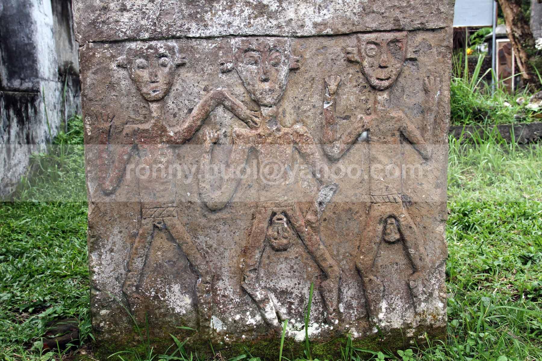 Foto Waruga Warisan Leluhur Minahasa Blog Ronny Buol Relief Situs
