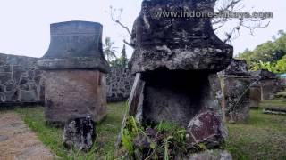 Melihat Situs Waruga Minahasa Utara Indonesiakaya Sawangan Kab