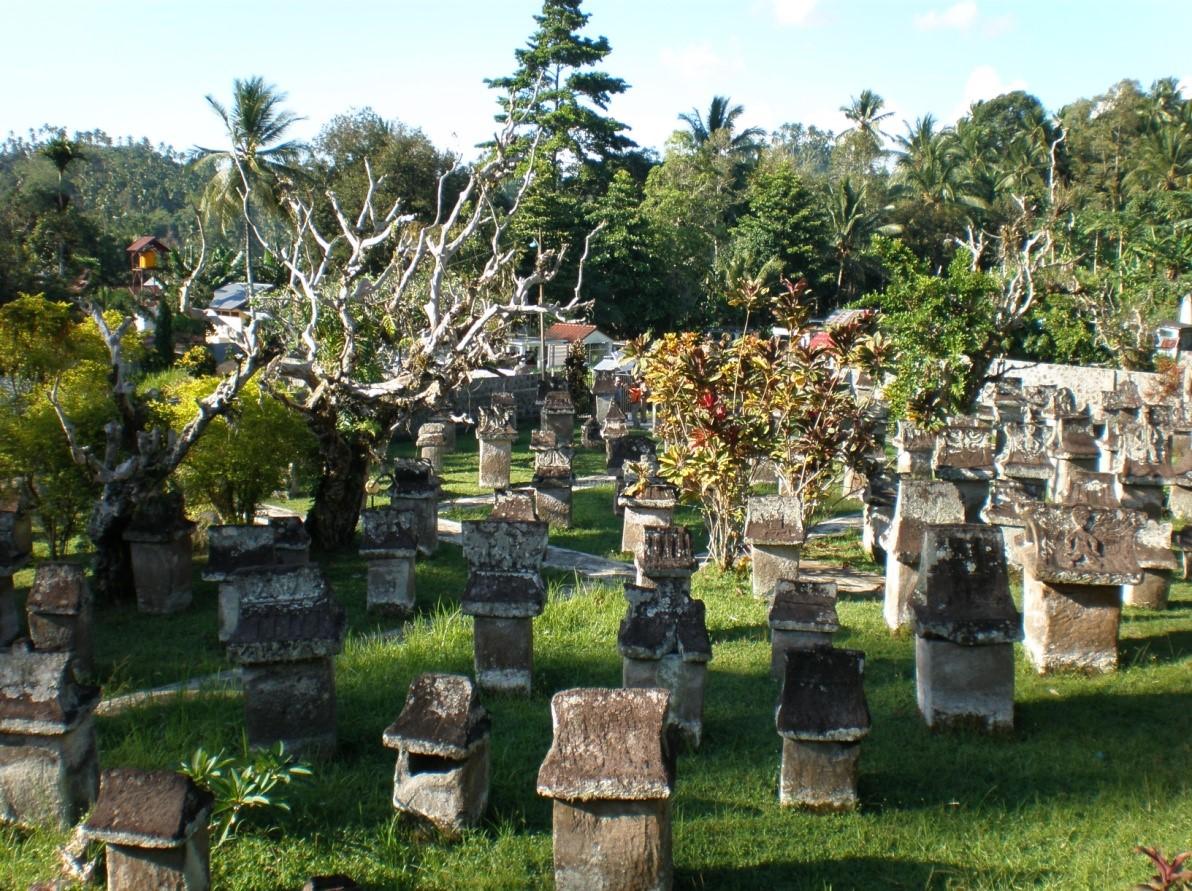 Menelisik Waruga Kuburan Tua Tinggalan Zaman Megalitik Minahasa Situs Sawangan