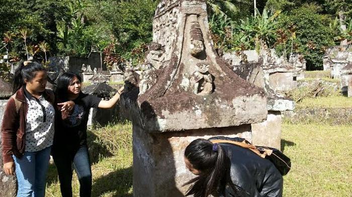 Taman Purbakala Waruga Sawangan Minahasa Utara Jejak Mahakarya Zaman Megalitikum