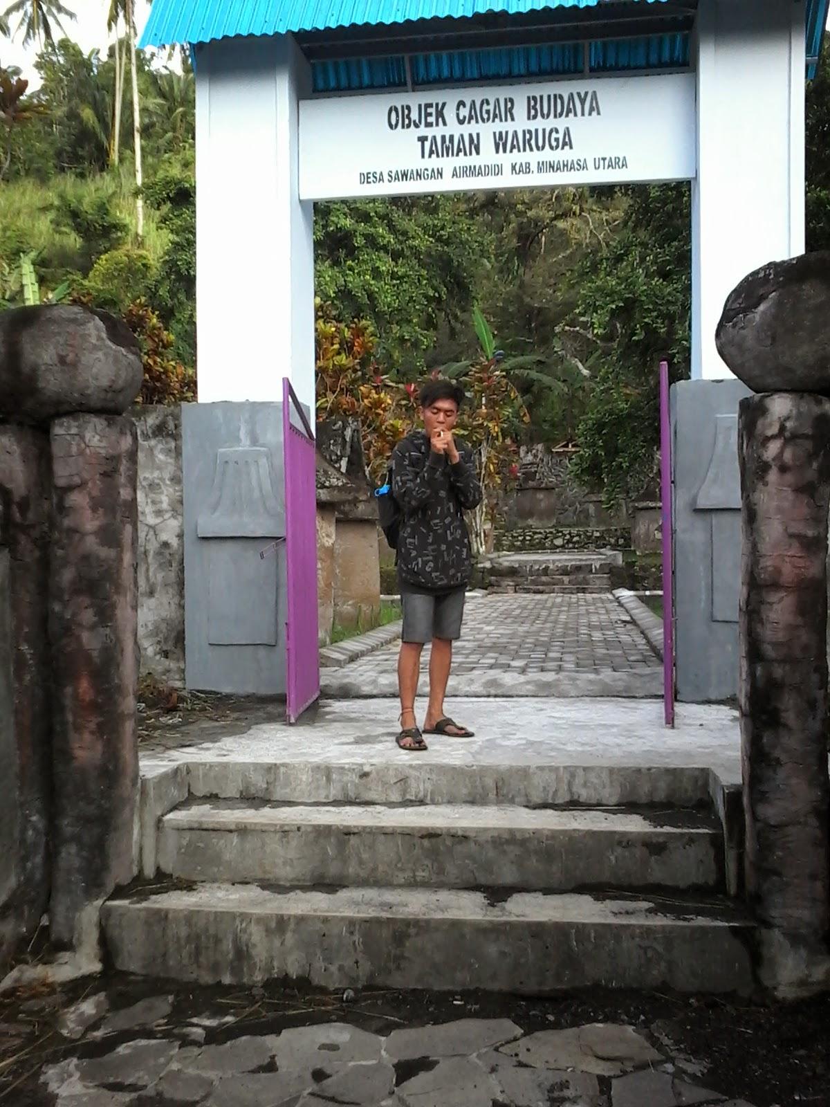 Taman Waruga Desa Sawangan Tombatu Tonsawang Tuama Toundanouw Situs Kab