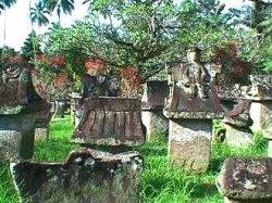 Taman Waruga Minahasa Sulawesi Utara Budaya Situs Sawangan Kab