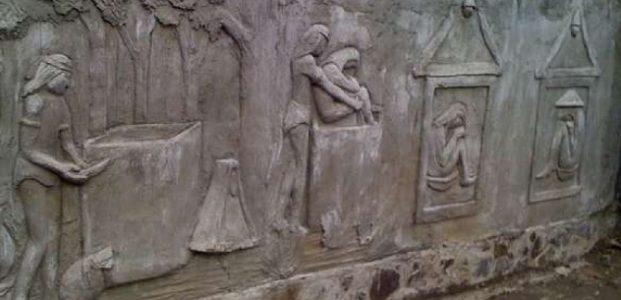 Waruga Sarkofagus Historis Utara Minahasa Kawanua Situs Sawangan Kab