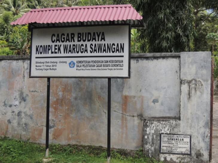 Waruga Sawangan Kuburan Ala Minahasa Manado Baswara Situs Kab Utara