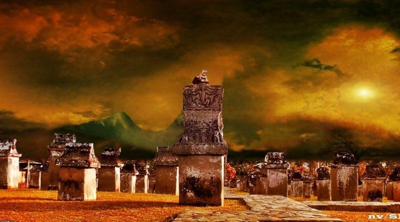 Waruga Sulutpos Situs Sawangan Kab Minahasa Utara