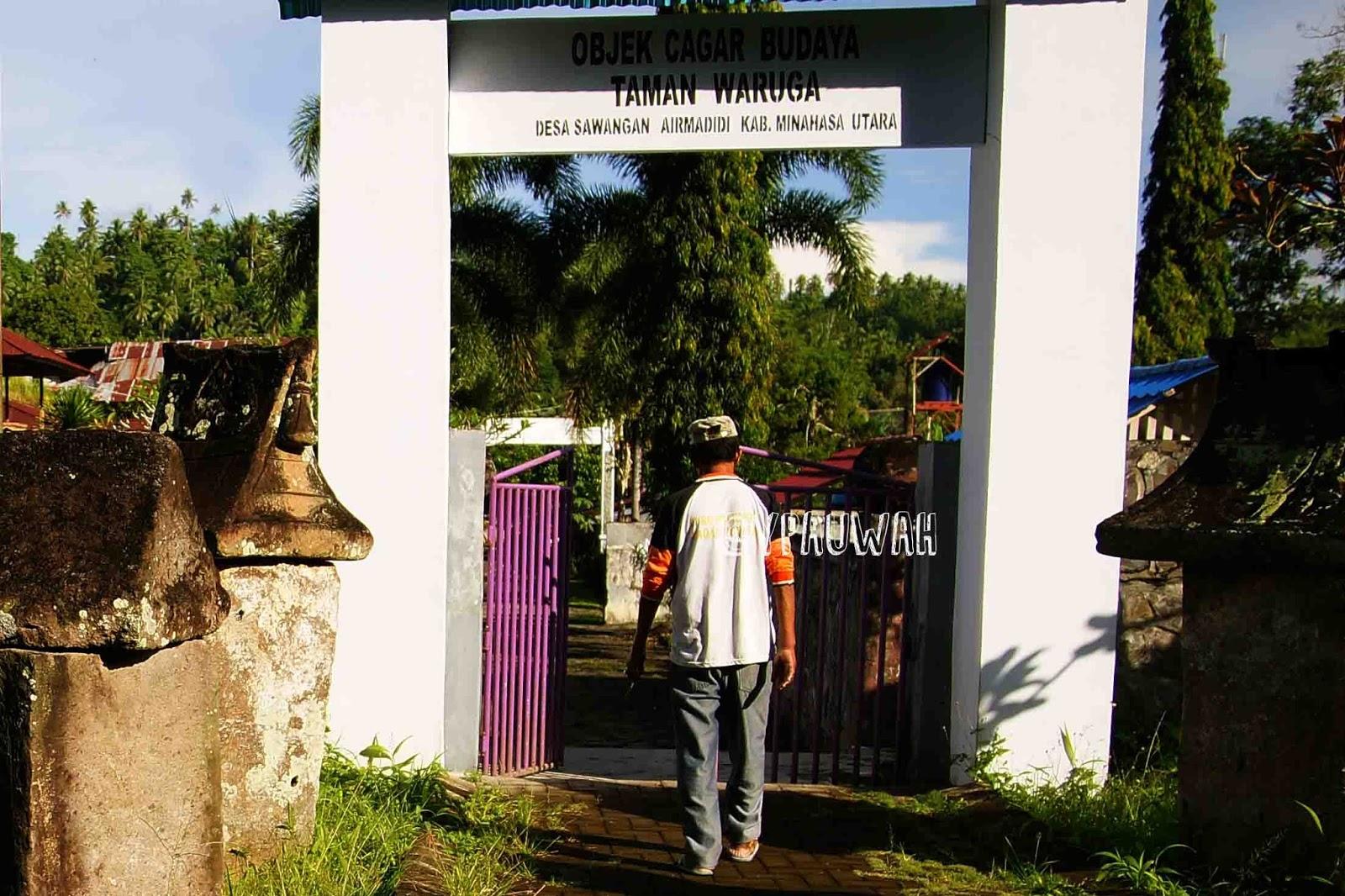 Yrp Peti Batu Kuburan Waruga Sawangan Mengunjungi Cagar Budaya Taman