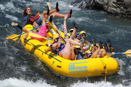 Adventure Arung Jeram Laman 2 River Rafting California 28 Sawangan