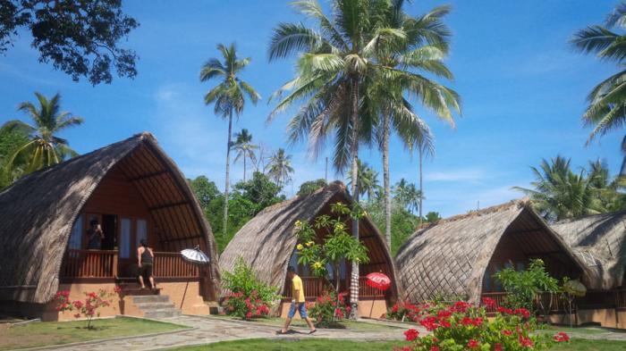 Airmadidi Kota Kelapa Minahasa Utara Sulawesi Kamar Penginapan Kinaari Resort