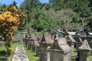Keindahan Wisata Sejarah Waruga Sawangan Manado Tanahair Arung Jeram Kab