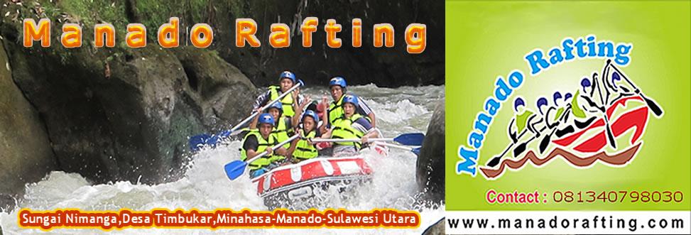 Manado Rafting Arung Jeram Nimanga River Sawangan Kab Minahasa