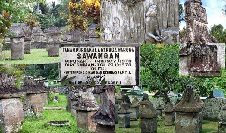 Rumah Abadi Nenek Moyang Minatminut Taman Purbakala Waruga Sawangan Manado