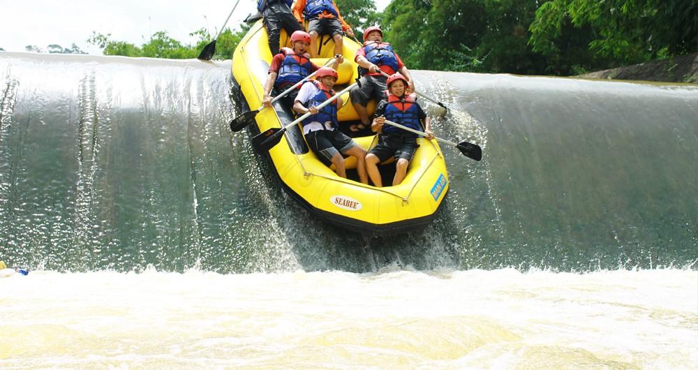 Tempat Wisata Arung Jeram Mengagumkan Berita Travelling Beritatravelling Sawangan Kab