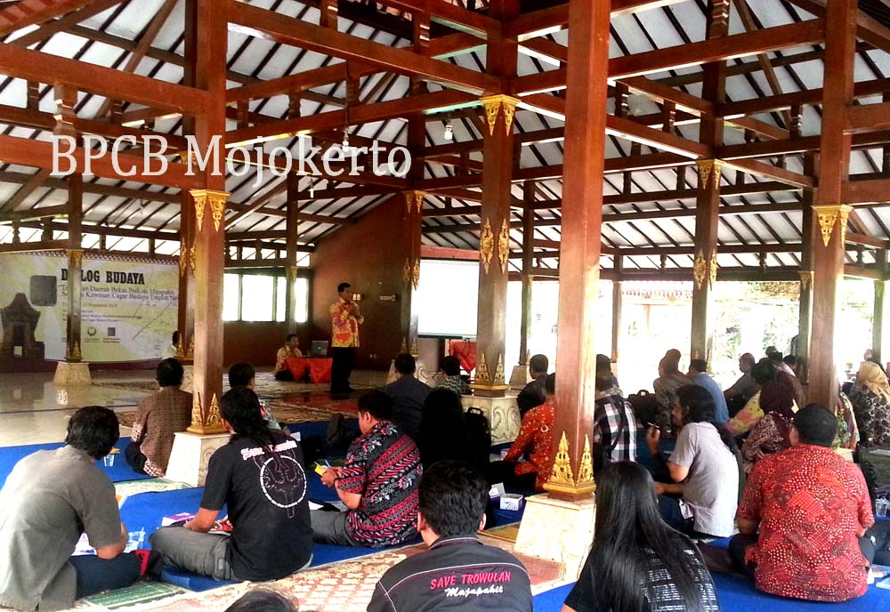 Dialog Budaya Rangka Hut Majapahit 721 Kantor Bpcb Balai Pelestarian