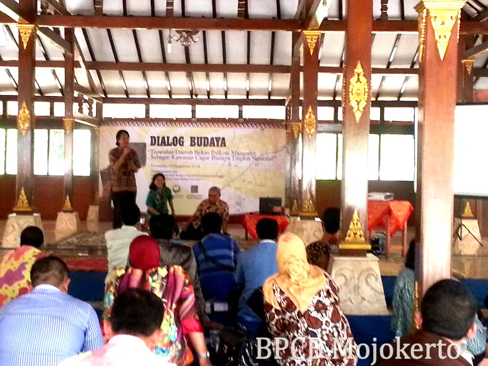 Dialog Budaya Rangka Hut Majapahit 721 Kantor Bpcb Mojokerto 13