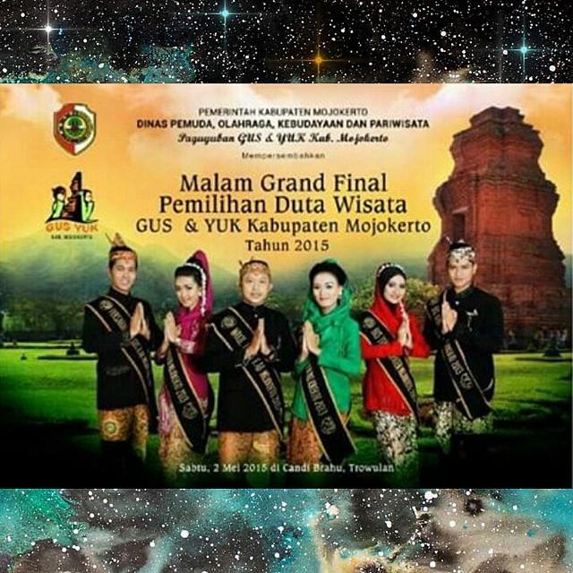 Grand Final Pemilihan Duta Wisata Gus Yuk Kabupaten Mojokerto Balai