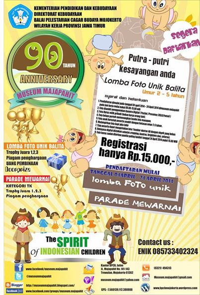 Kegiatan Event Balai Pelestarian Cagar Budaya Mojokerto Wilayah Gambar Kab