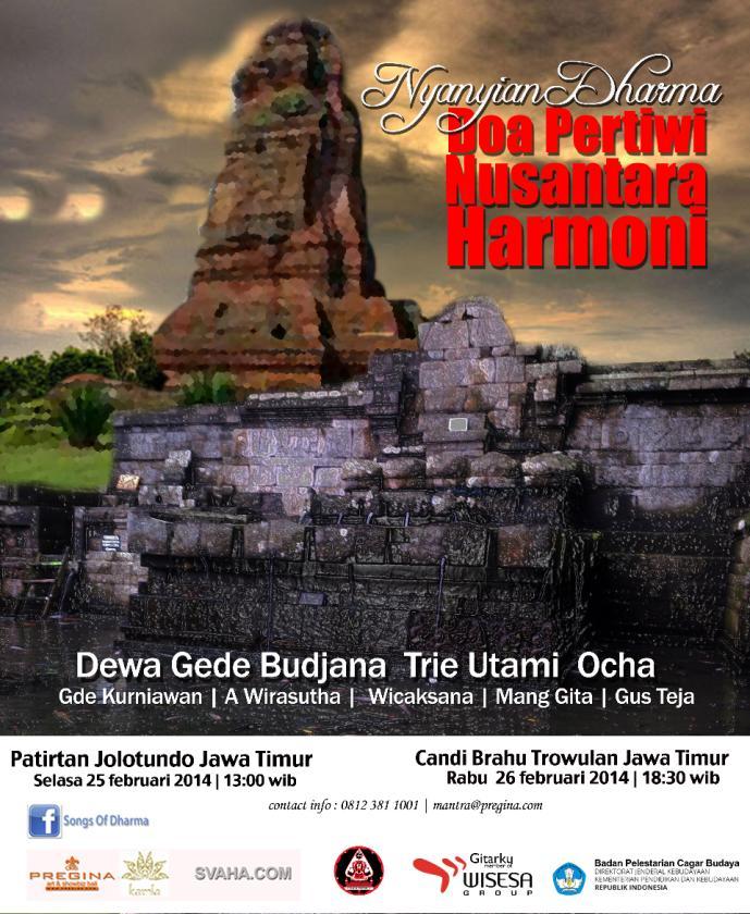 Kegiatan Penyelamatan Cagar Budaya Bpcb Mojokerto Balai Doa Pertiwi Nusantara