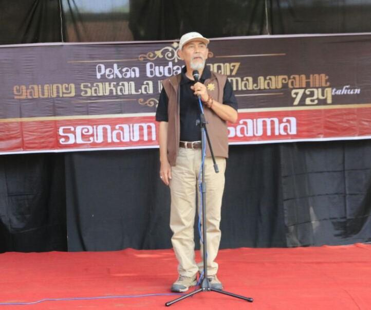 Pekan Budaya Majapahit Balai Pelestarian Cagar Jawa Timur Melaksanakan Tema