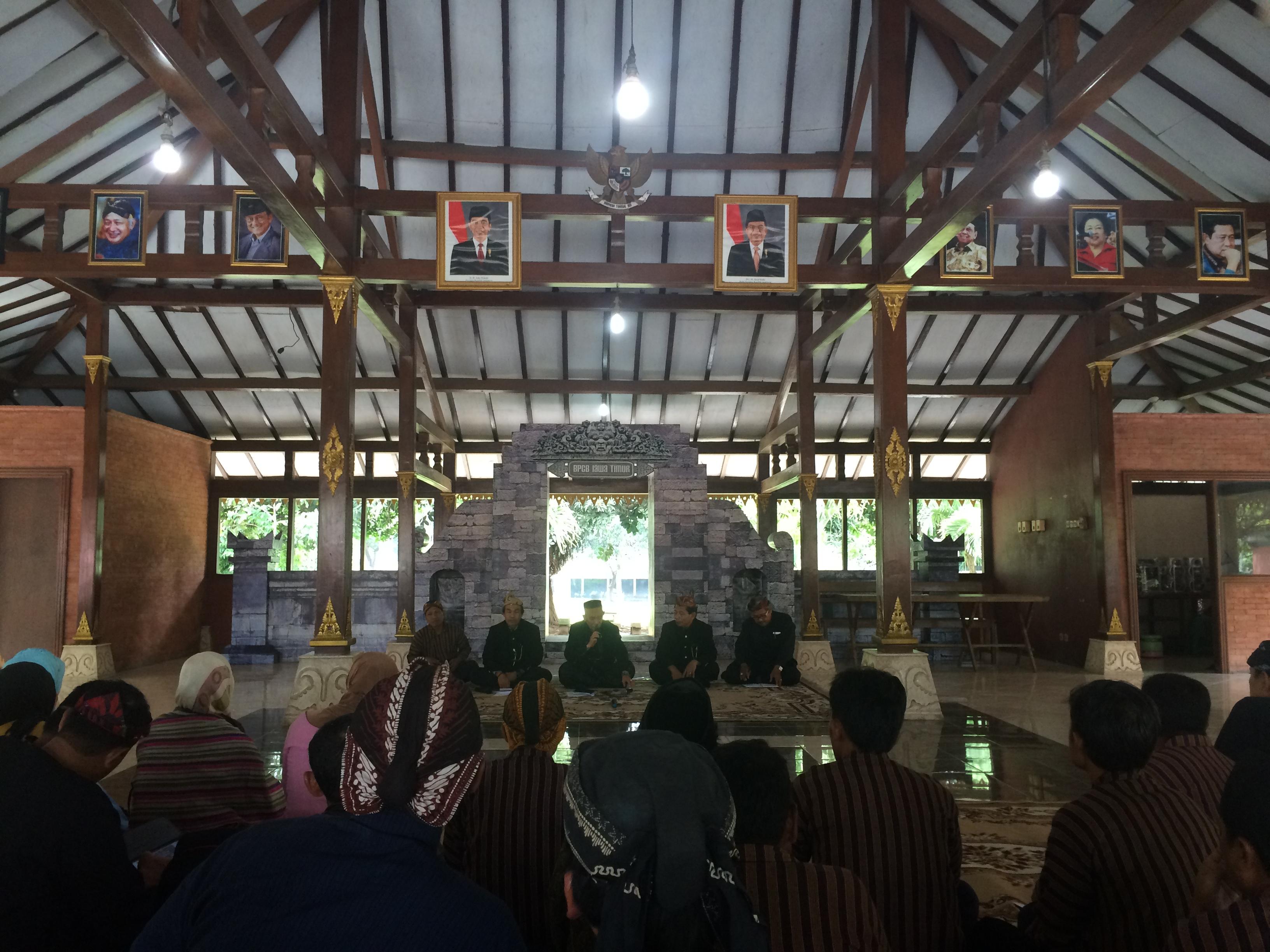 Pembinaan Juru Pelihara Bpcb Jawa Timur Balai Pelestarian Cagar Mojokerto