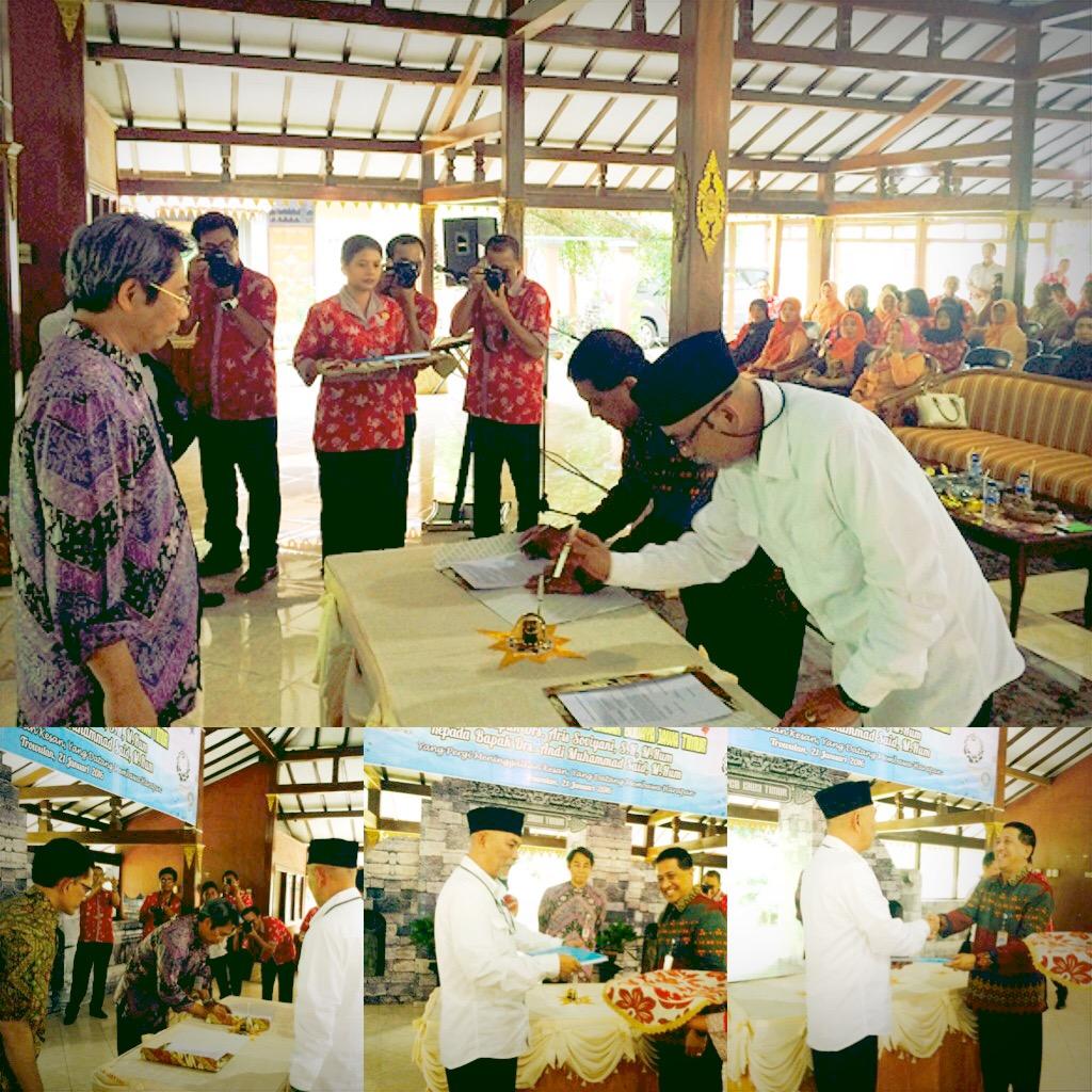 Serah Terima Jabatan Kepala Bpcb Jawa Timur Balai Pelestarian Mojokerto