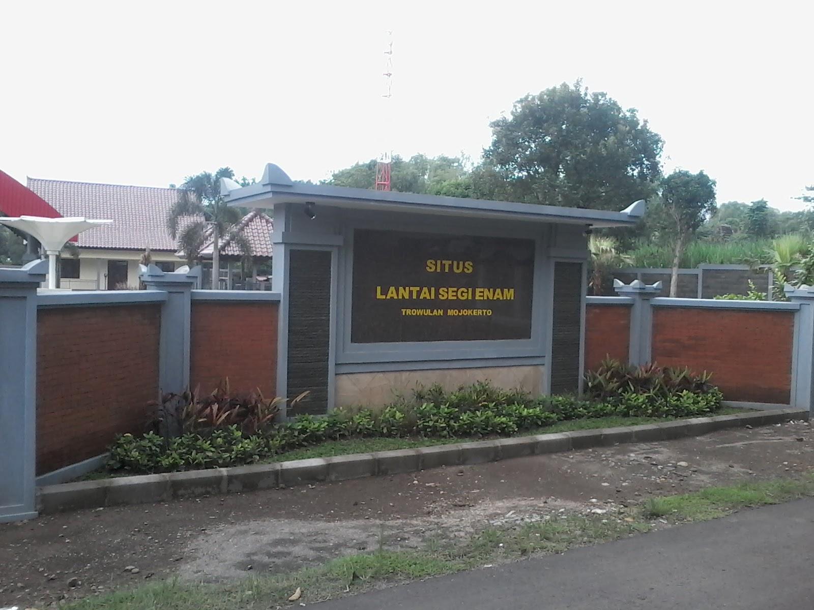 Situs Lantai Segi Enam Balai Pelestarian Cagar Budaya Jawa Timur