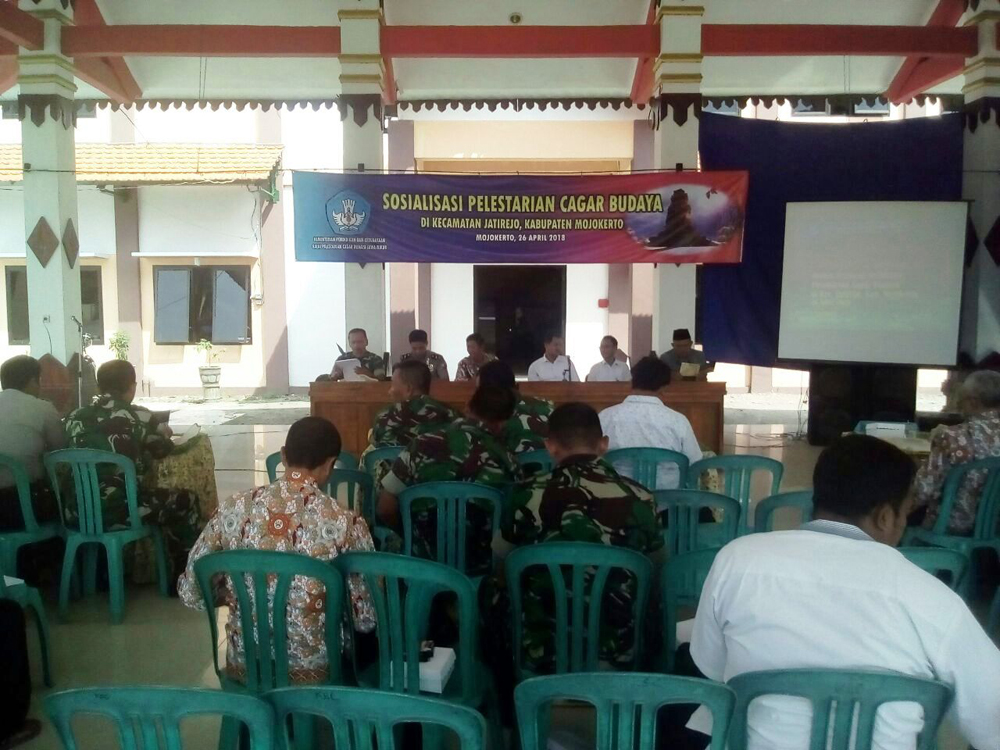Sosialisasi Pelestarian Cagar Budaya Wilayah Jatirejo Korem 082 3 Mojokerto