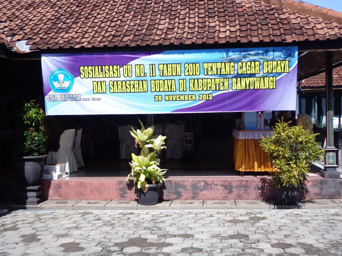 Sosialisasi Undang Cagar Budaya Acara Sarasehan Kebudayaan Bpcb Mojokerto Kemarin
