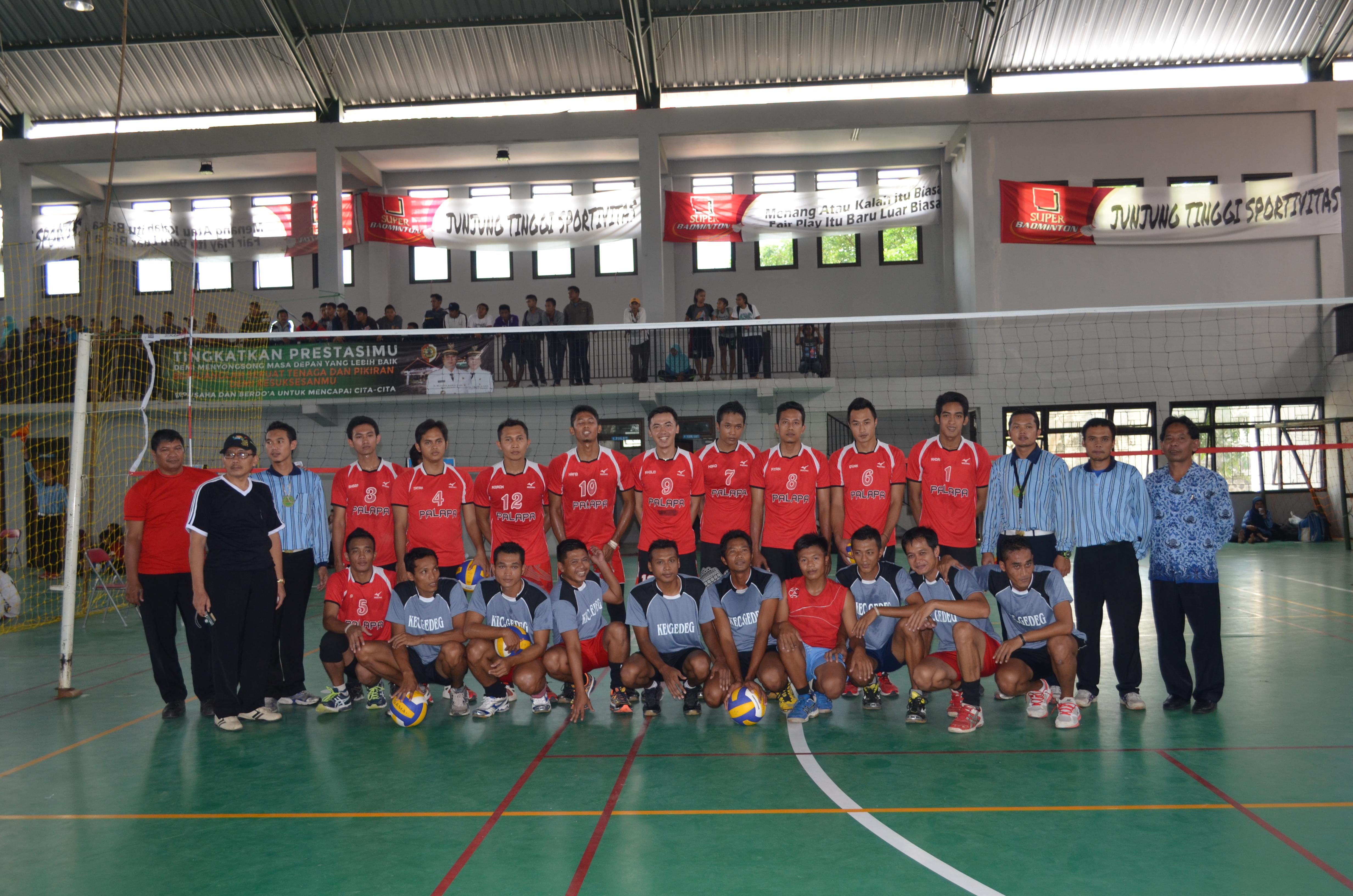 Team Bola Voli Bpcb Mojokerto Juara Lomba Rangka Hut Tim