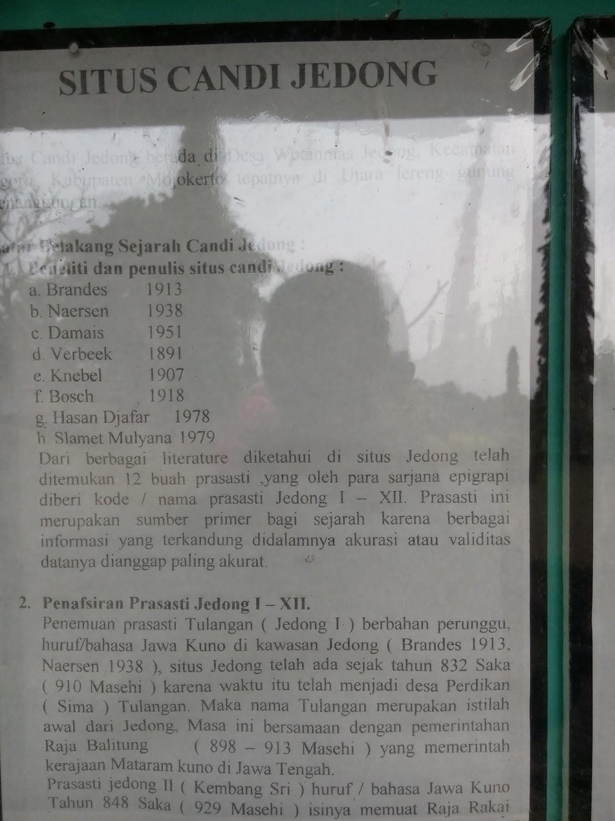 Candi Jedong Ngoro Mojokerto Situs Prasejarah Terlupakan Info Mading Kab