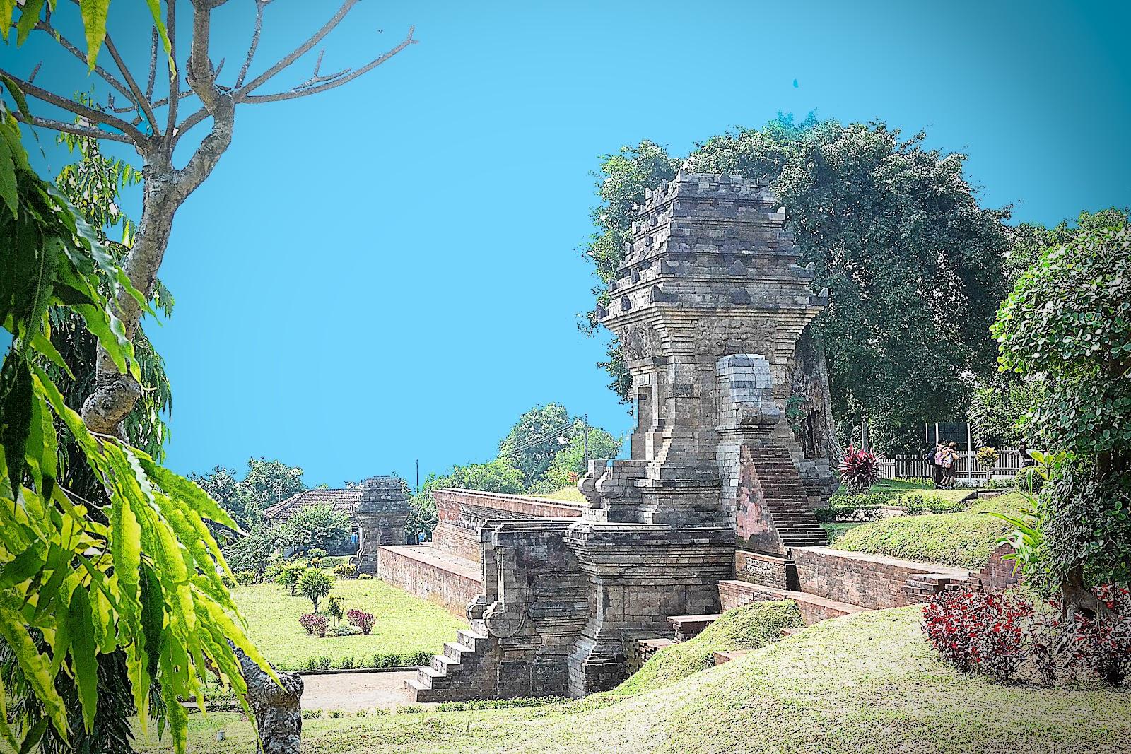 Seni Arsitektur Candi Jedong Ngoro Terletak Desa Wotanmas Kecamatan Kabupaten