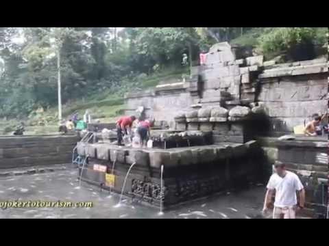 Situs Petirtaan Jolotundo Airnya Berkhasiat Mojokerto Tourism Candi Kab