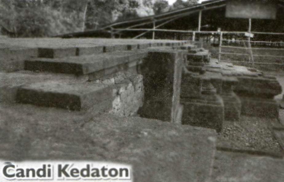 Candi Kedaton Kabupaten Mojokerto Pusaka Jawatimuran Terletak Dusun Kecamatan Trowulan