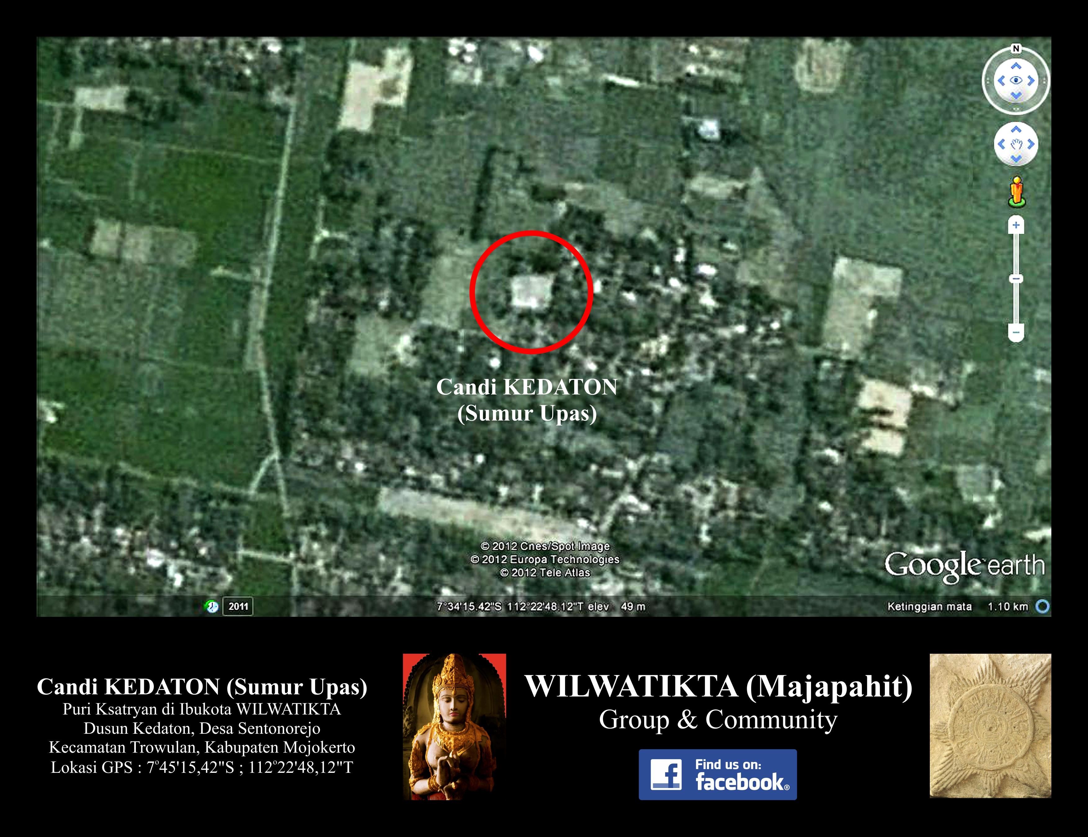 Candi Kedaton Sumur Upas Peninggalan Kerajaan Wilwatikta Kab Mojokerto