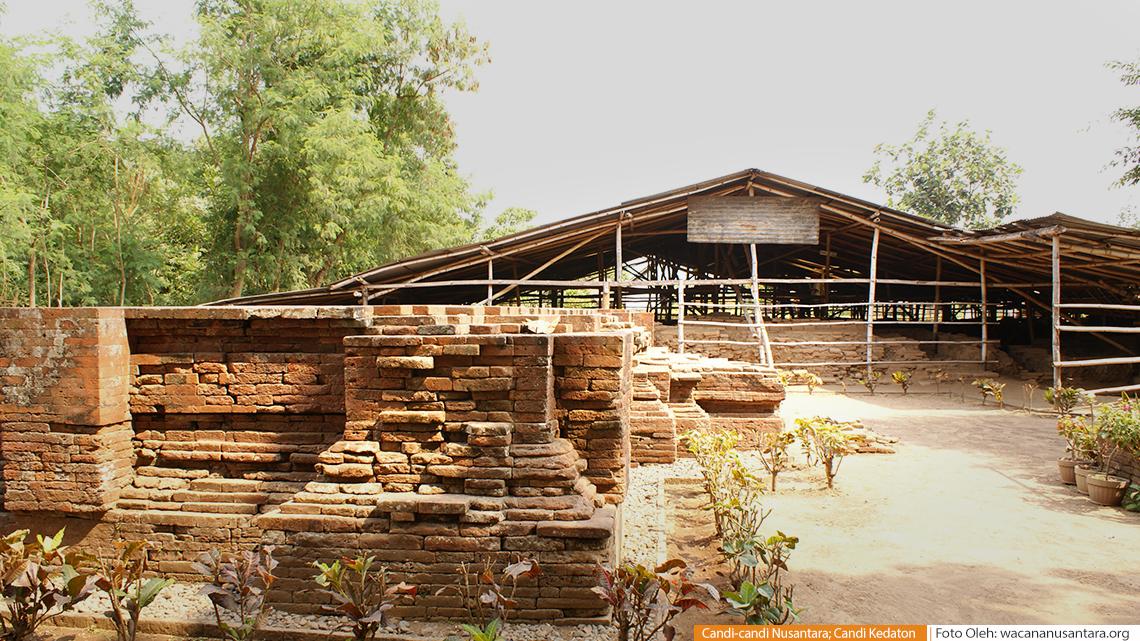 Candi Kedaton Temple Wacana Bangunan Dikenal Sebagai Sumur Upas Mempunyai
