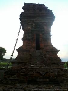 Candi Bangkal Aset Berharga Tengah Pematang Sawah Majapahit 2014 08