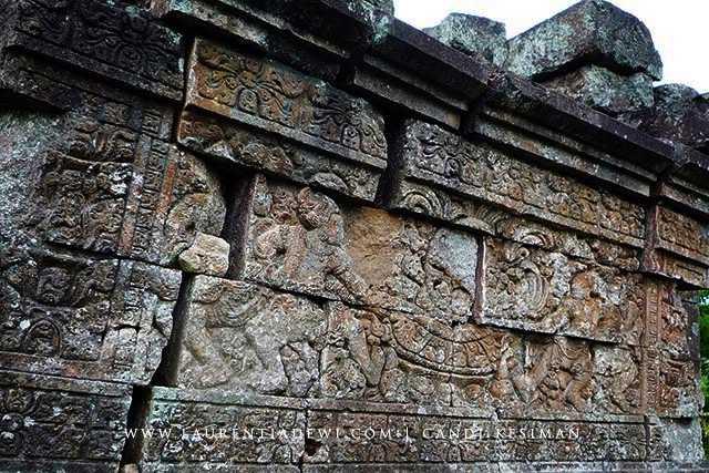 Candi Kesiman Tengah Cungkup Mojokerto Reliefnya Yahud Adakah Bisa Mengenalinya