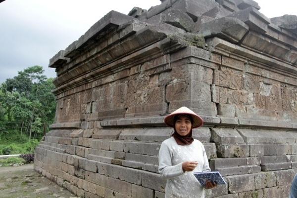 Travel Detik Candi Kesiman Mojokerto Jatim Tak Menawarkan Panorama Cantik