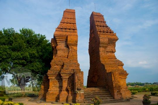 9 Candi Peninggalan Kerajaan Majapahit Menarik Wisatawan Gapura Wringin Lawang