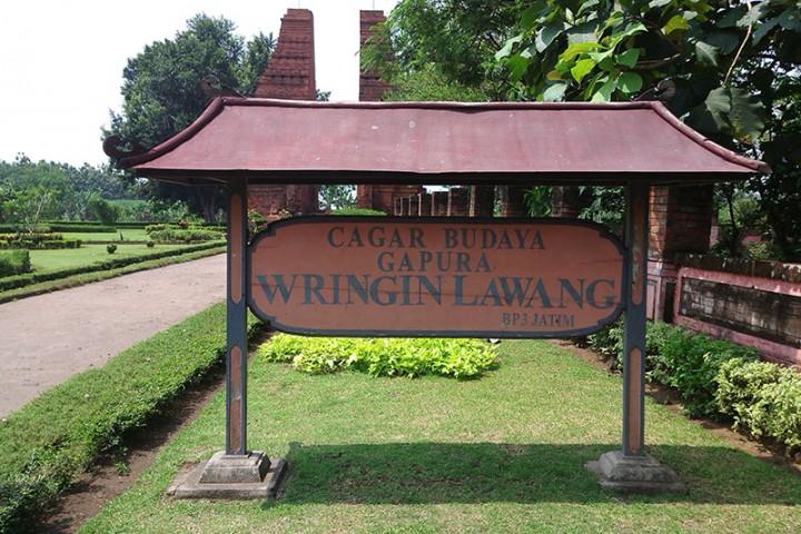 Candi Wringin Lawang Badan Promosi Pariwisata Daerah Kabupaten Kadang Disebut