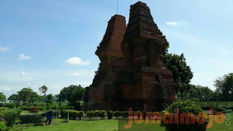 Gapura Wringin Lawang Disebut Sebagai Candi Jati Pasar Kab Mojokerto