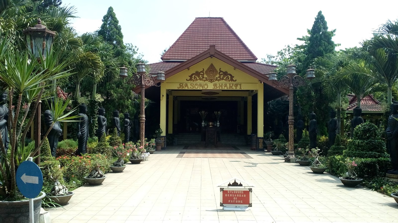 Buddha Tidur Mojokerto Pojok Rider Area Maha Vihara Mojopahit Kab