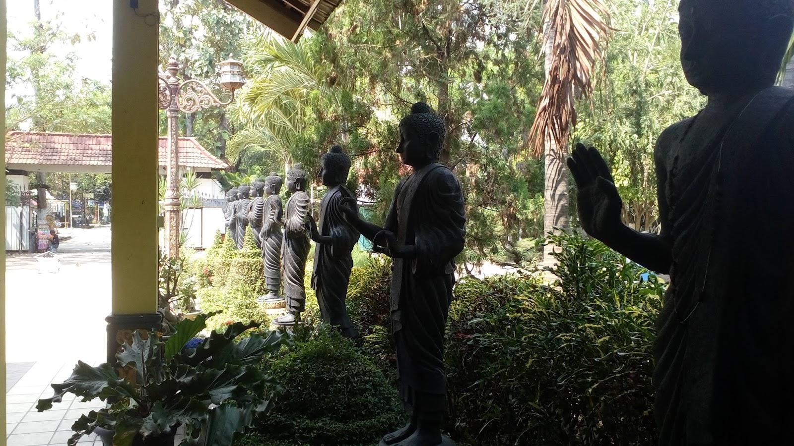 Buddha Tidur Mojokerto Pojok Rider Maha Vihara Mojopahit Kab