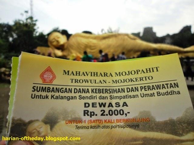 Day Ternyata Sleeping Buddha Maha Vihara Membayar Biaya Pengganti Kebersihan