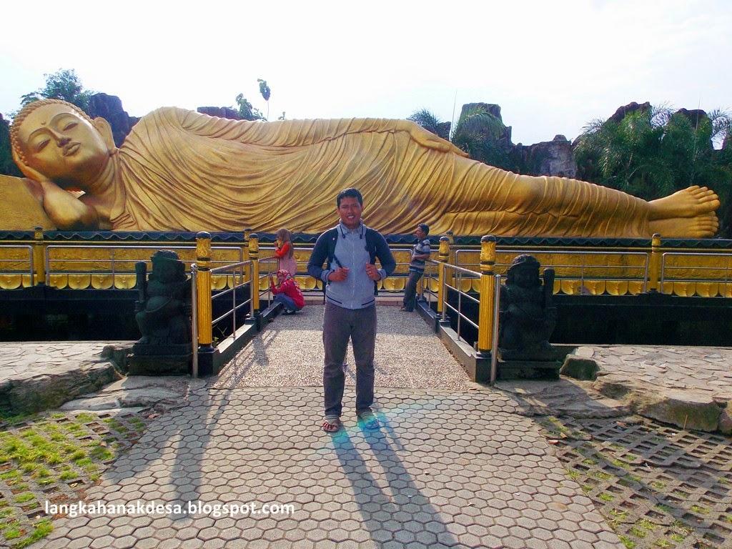 Langkah Anak Desa Patung Budha Tidur Mojokerto Biasa Disebut Sleeping
