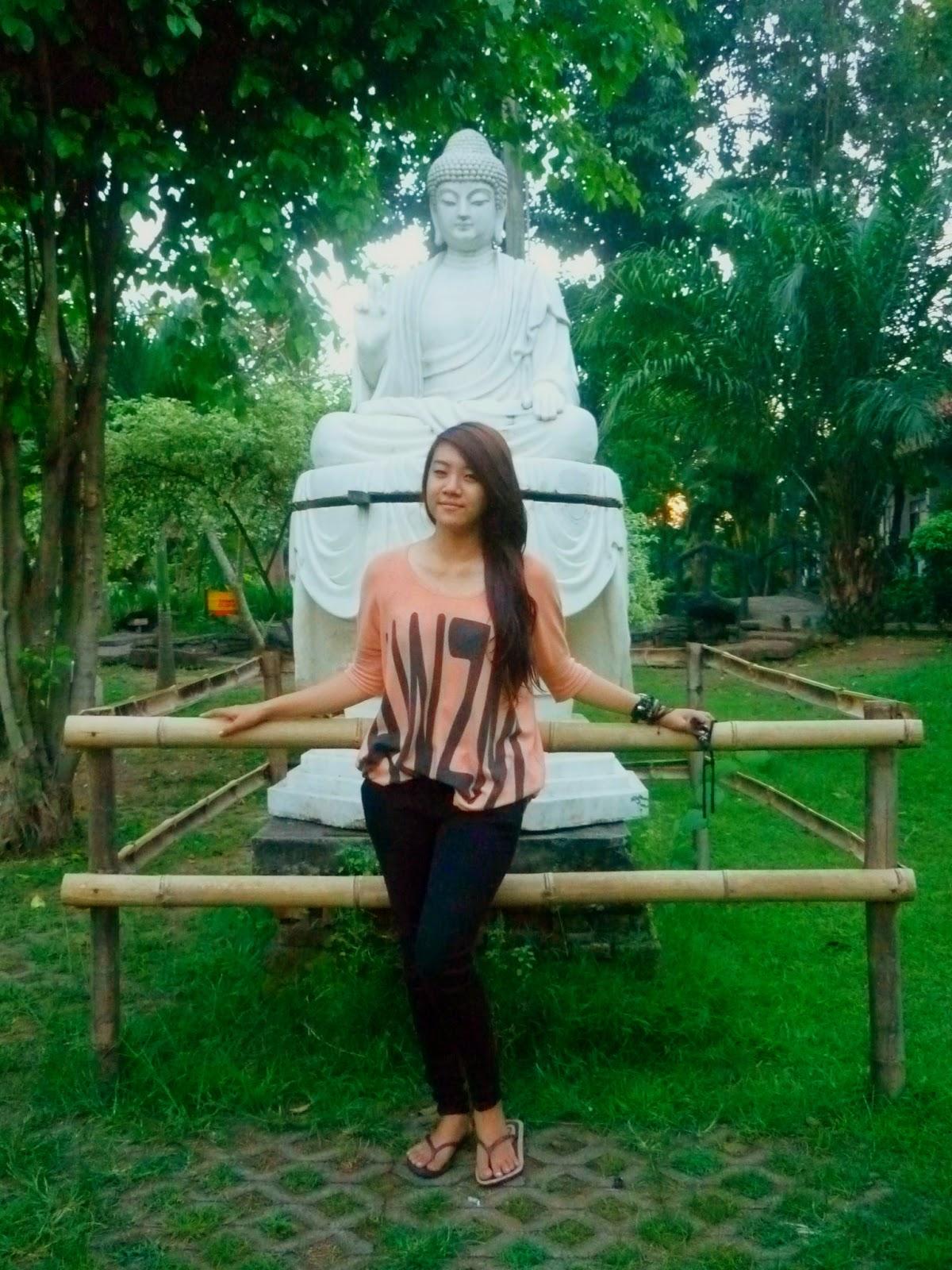 Patung Budha Tidur Trowulan Mojokerto Jawa Timur Cimara Adventure Miniatur