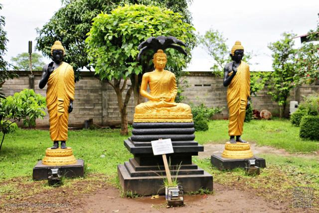 Sleeping Buddha Krishna Pictures Notes Mahavihara Mojopahit Trowulan Dibangun 1985
