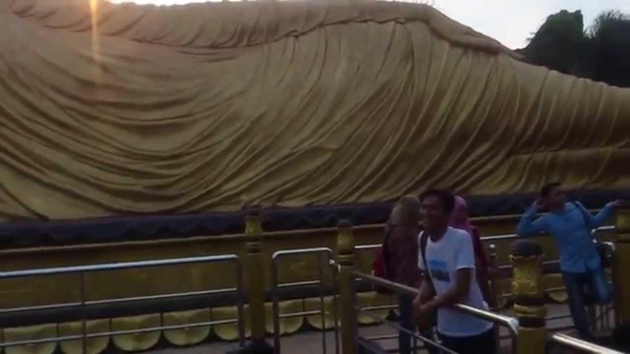 Wisata Patung Budha Tidur Mojokerto Youtube Maha Vihara Mojopahit Kab