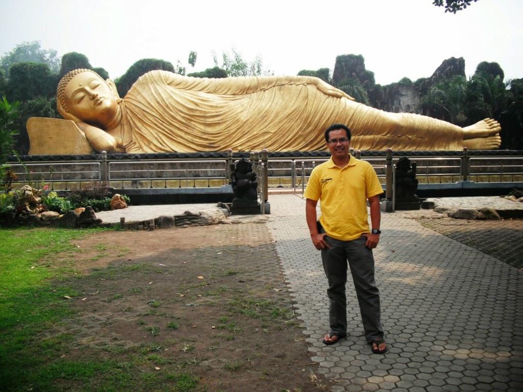 Wiyak Bumi Langit Patung Buddha Tidur Maha Vihara Majapahit Pulang